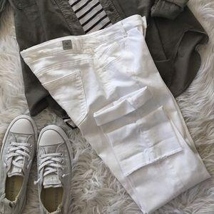Wit & Wisdom White Jeans Size 8